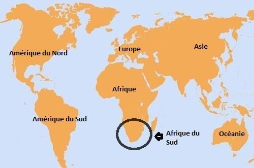 Carte De L Afrique Ville